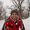 Alessandro likes snow